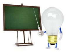 Learning about light bulbs